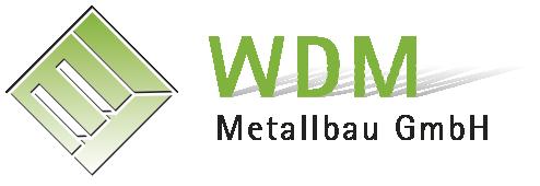 Logo WDM Metallbau GmbH